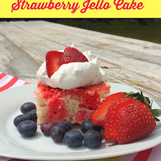 Jello Cake- Easy Summer Dessert!