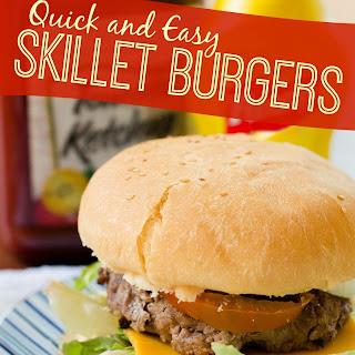Easy Skillet Burgers