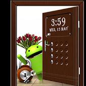 Door Screen Lock - Brown