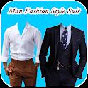 Man Fashion Style Suit icon