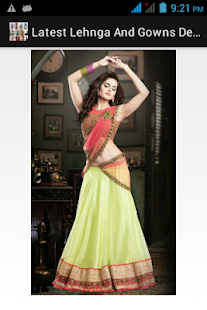 Lehenga Choli Designs 2018- screenshot thumbnail