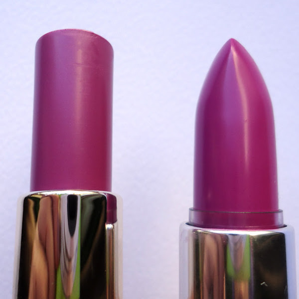 L'Oréal Rouge Caresse 203 Rock 'n' Mauve vs. Catrice Ultimate Shine Gel Color 080 Russian Violette