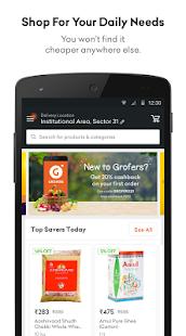 Grofers - Order Grocery Online - náhled