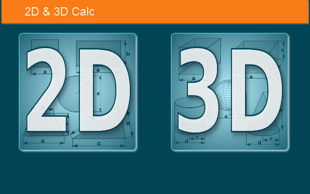 2D & 3D Calc