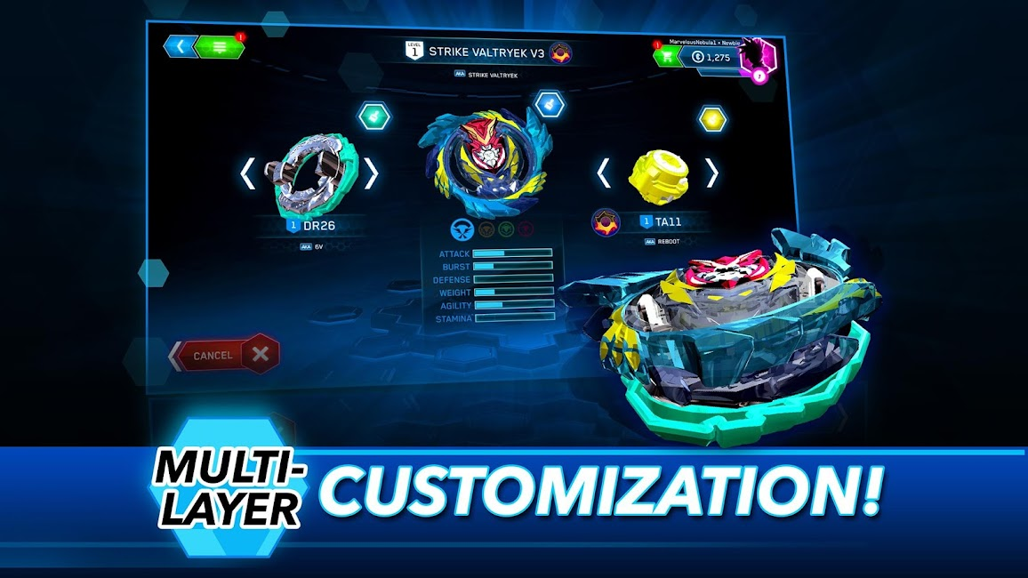 Ứng dụng BEYBLADE BURST GiftCode 9.5.2 2