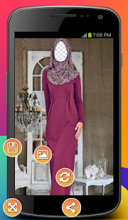 Hijab Veil Photo Montage - náhled