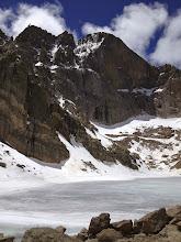 Photo: Longs Peak East Face soars 2000 Feet above Chasm Lake