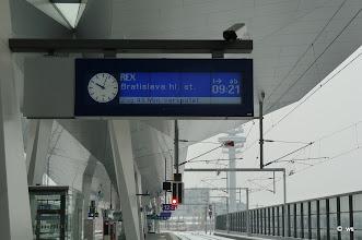 Photo: 3. verspätungsmeldung für bratislava