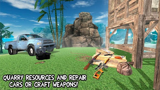 Prison Escape Island Survival screenshot 1