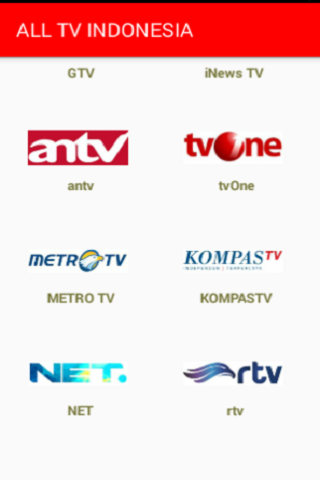 ALL CHANNEL TV INDONESIA 7.0.0 screenshots 2