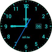 Clock Live Wallpaper - REH.TW