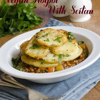 Vegan Hotpot With Seitan.