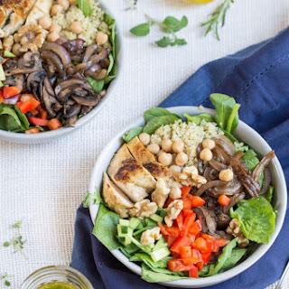 Mediterranean Quinoa Chicken Salad.