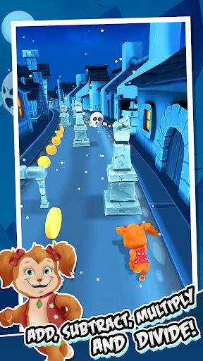 Toon Math: Endless Run and Math Games apkpoly screenshots 3