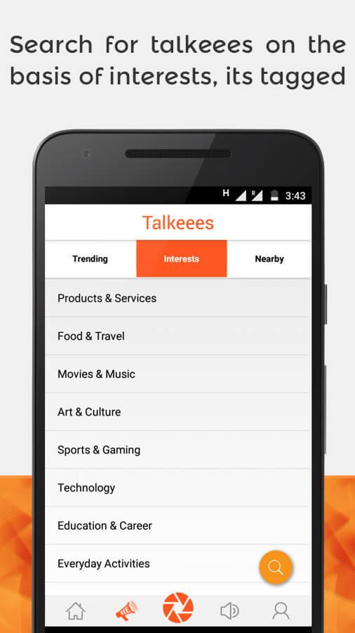 talkeees (Beta)- screenshot