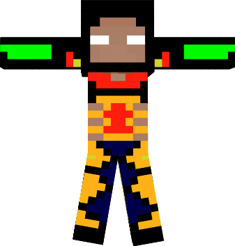 this is herobine if he comes back in 1.2.6. he will have fire and water power!