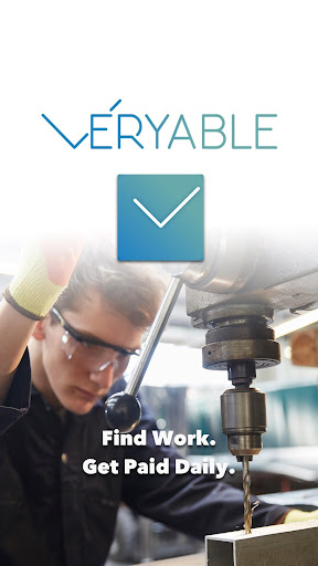 Veryable - Work & Get Paid Daily. 3.15.13 screenshots 1
