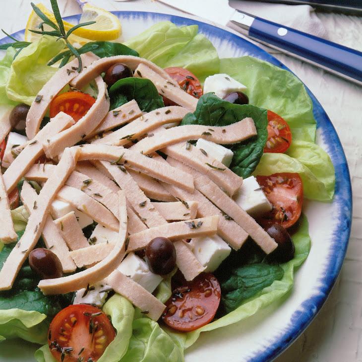 Pork Salad a La Grecque Recipe