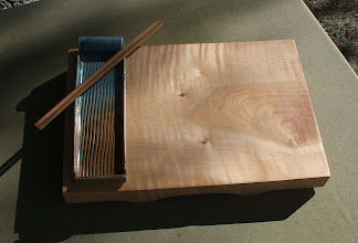 Photo: curly maple server