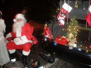 Photo: Santa made an appearance too.