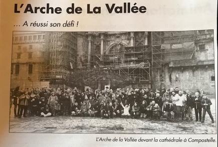 article sur L'Arche de La Vallée dans l'impartial de la drôme