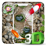 Free Koi Fish 3D Theme With Animation 🐟 Apk Download Free for PC, smart TV