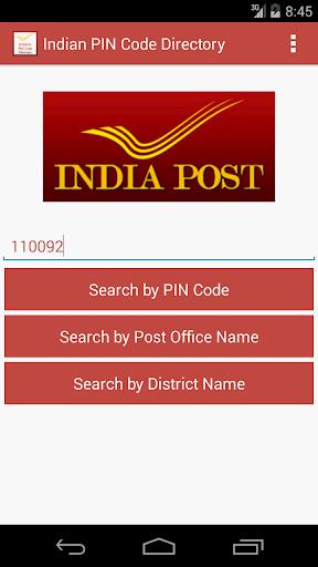 Indian PIN Code Directory