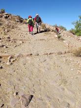 Photo: Antiguos caminos I Subiendo desde el río a Yumina Paucarpata - Yumina - Sabandia