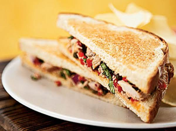Tuscan Tuna Sandwiches Recipe