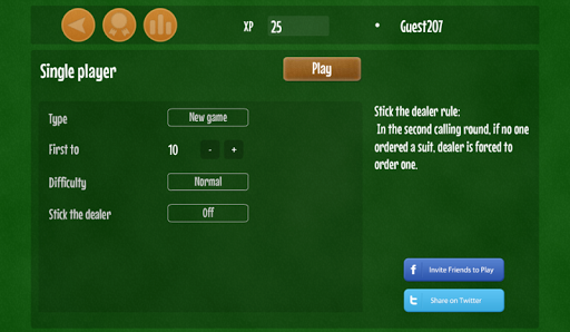Euchre free card game 1.7 screenshots 2