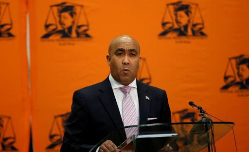 National Director of Public Prosecutions, Shaun Abrahams. Picture: SIPHIWE SIBEKO/ REUTERS