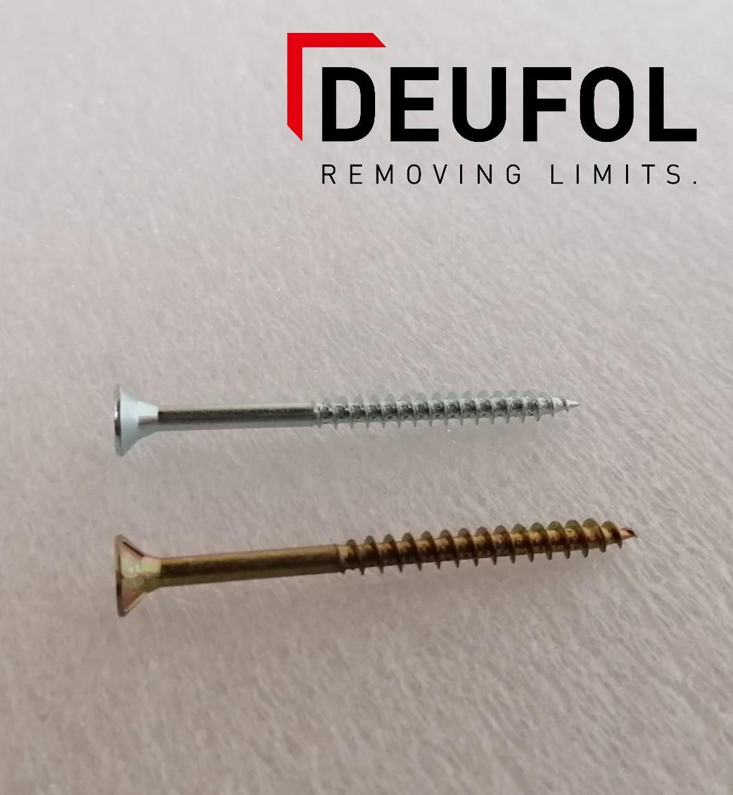 Wood screw 4,5x80mm TX25 zinc plated - 200 pieces