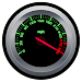 RPM and Speed Tachometer Icon