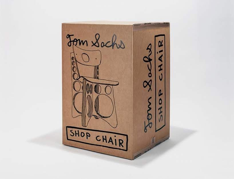 Shop Chair gris usa arce y madera contrachapada para su edición limitada