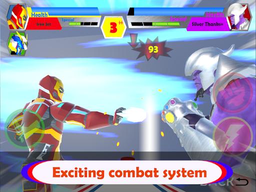 Ultra Hero Fusion : Superhero Ultra Man Battle 1.0.1 screenshots 9