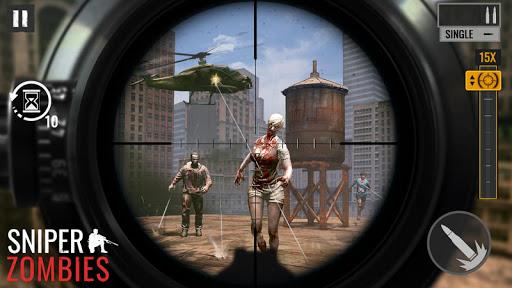 Télécharger Gratuit Zombies Sniper: Jeux de Zombie APK MOD (Astuce) screenshots 1