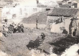 Photo: Mozos en las vaquillas (Fotografía enviada por Saul Herrero)