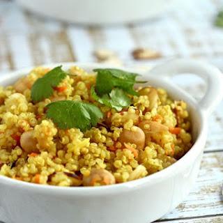 Quinoa Chickpeas Recipes.
