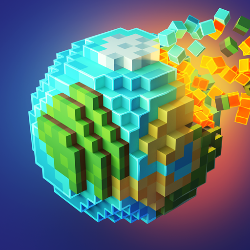 PlanetCraft: Block Craft Games Icon