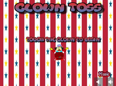 Clown Toss screenshot 1