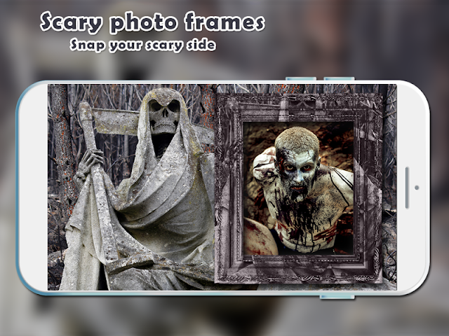 android Scary Photo Frames Screenshot 4