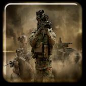 Modern Soldier Photomontage