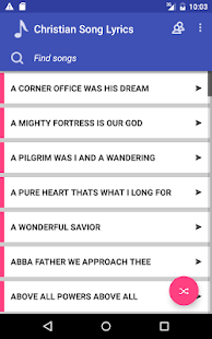 Christian Song lyrics (Hymns) - Android Apps on Google Play