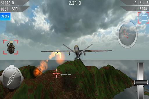 Real Drone Strike Simulator