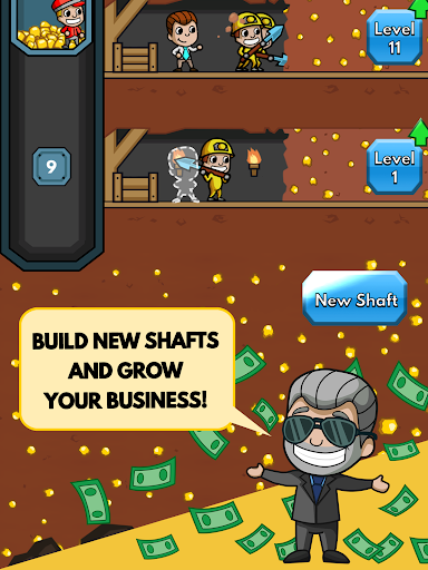 Idle Miner Tycoon game (apk) free download for Android/PC/Windows screenshot