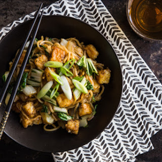Mee Goreng with Tofu and Bok Choy Recipe
