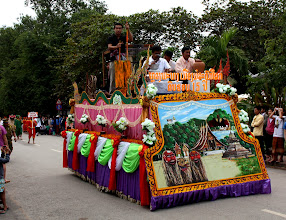 Photo: Day 261 - One of the Floats in the  Procession
