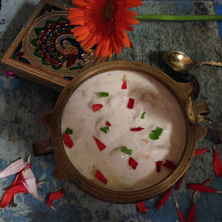 Custard Apple or Sitaphal rabri.
