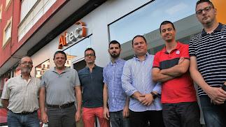 El equipo profesional y experto en el sector de Altec Informática.