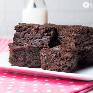 Healthy Vegan Brownies.